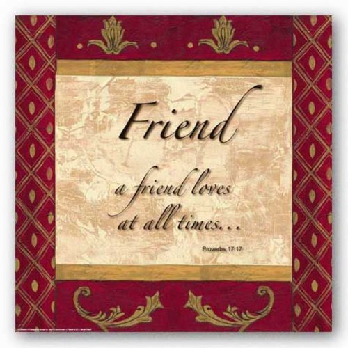 Words to Live By - Traditional - Friend by Debbie DeWitt