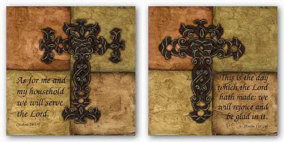 Tuscan Cross Set by Debbie DeWitt