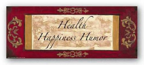 Words To Live By: Health, Happiness, Humor by Debbie Dewitt