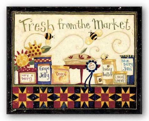 Market Fresh Jams by Dan DiPaolo