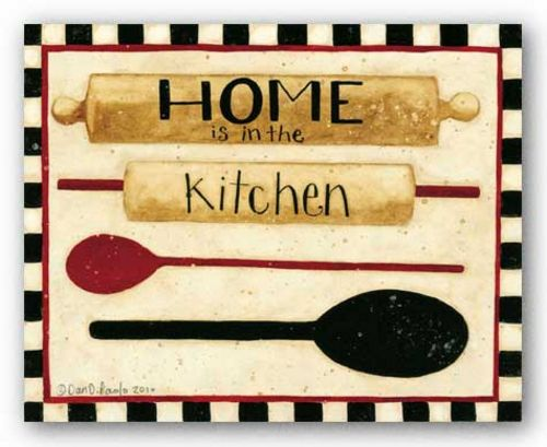 Home in the Kitchen by Dan DiPaolo