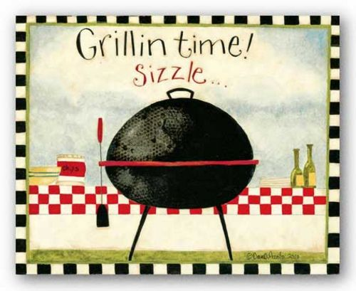 Grillin Time by Dan DiPaolo