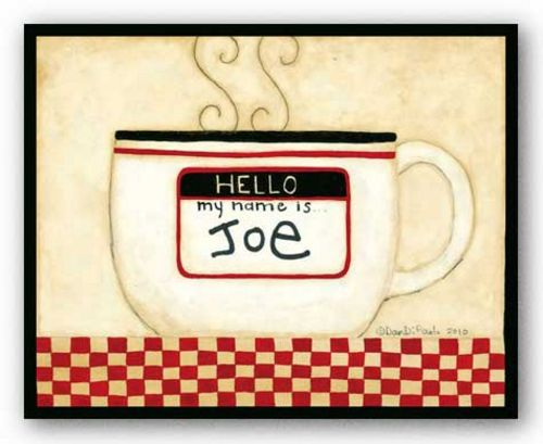Cup Of Joe by Dan DiPaolo