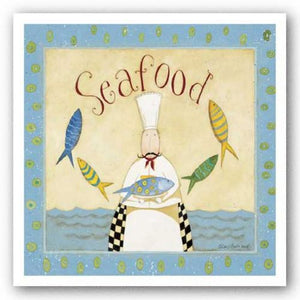 Seafood Chef by Dan DiPaolo