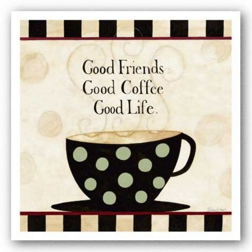 Good Friends, Coffee by Dan DiPaolo