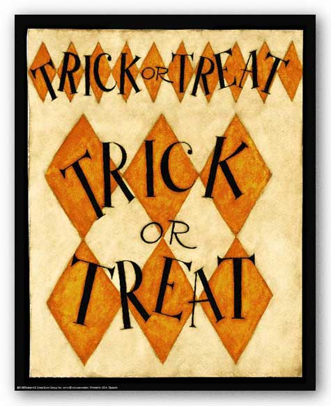 Trick or Treat by Dan DiPaolo