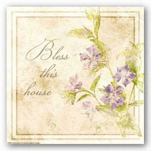 Florals: Bless This House by Jessica von Ammon