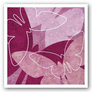 Butterflies Pink VI by Kristin Emery