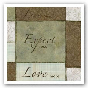 Sage/Earth - Live Expect Love by Kristin Emery
