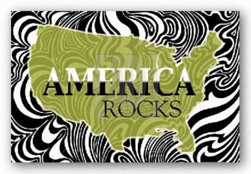 America Rocks by Marilu Windvand