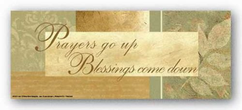 Words To Live By - Leaf: Prayers go up by Marilu Windvand