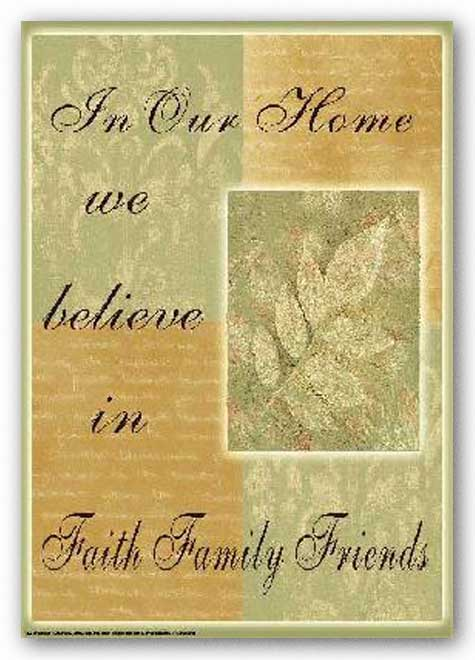 Words To Live By - Leaf: In Our Home by Marilu Windvand