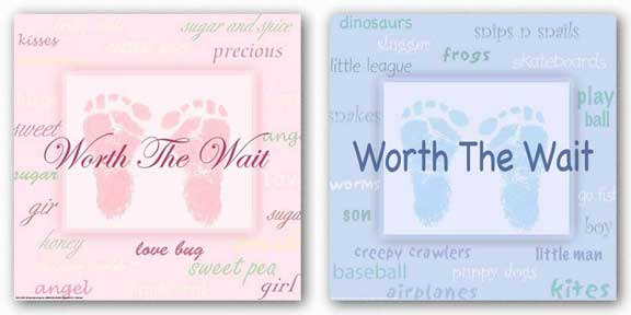 Words To Live By Kids: Worth the Wait Set by Marilu Windvand