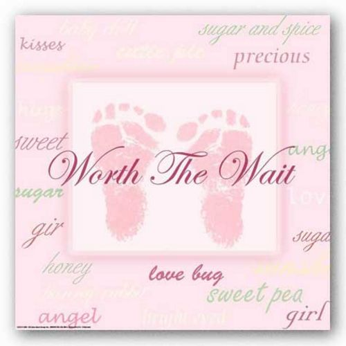 Words To Live By Kids: Worth the Wait (Girl) by Marilu Windvand