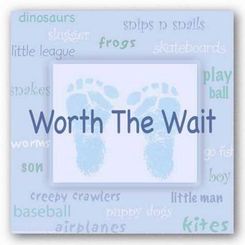 Words To Live By Kids: Worth the Wait (Boy) by Marilu Windvand