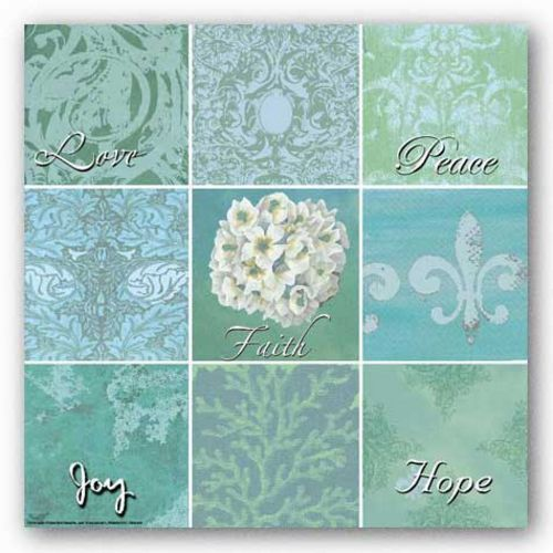 Words To Live By - Spa Patch: Hydrangea by Marilu Windvand