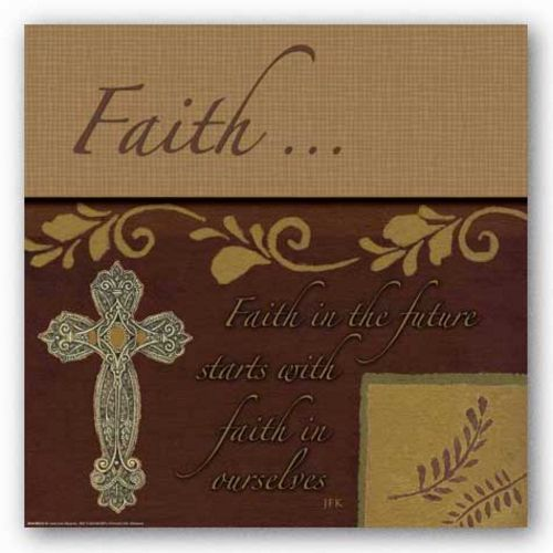 Words To Live By - Cross: Faith In The Future by Marilu Windvand