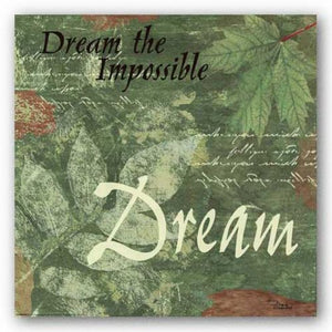 Words To Live By, Pressed Leaf Dream by Marilu Windvand