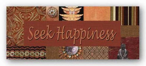 Words To Live By - Global: Seek Happiness by Marilu Windvand