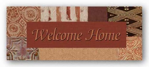 Words To Live By - Global: Welcome Home by Marilu Windvand