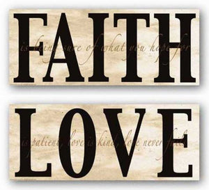Faith and Love Set by Marilu Windvand