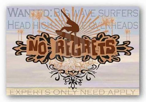 Big Wave Surfers by No Regrets