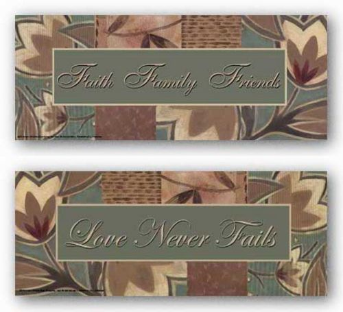 Tapestry Flowers: Love and Faith Set by Sara Anderson