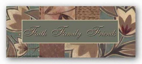 Tapestry Flowers: Faith Family Friends by Sara Anderson