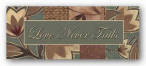 Tapestry Flowers: Love Never Fails by Sara Anderson