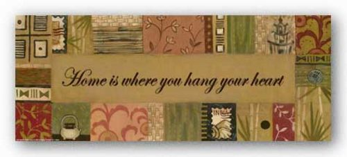 Words To Live By - Global: Home is where by Sara Anderson
