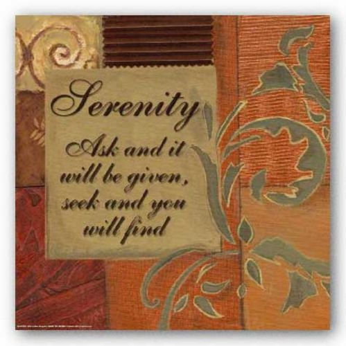 Words To Live By: Serenity by Smith-Haynes