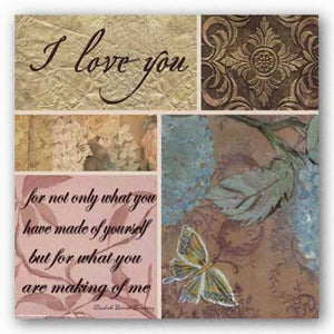 Shabby Chic: I love you not only by Smith-Haynes