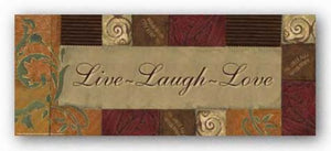 Words To Live By Olive Scroll: Live, Laugh Love by Smith-Haynes