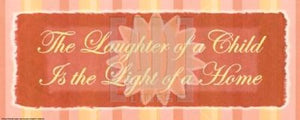The laughter of a child by Smith-Haynes