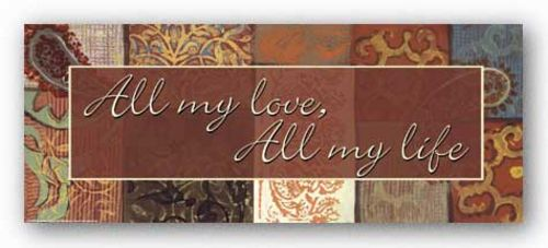 Words To Live By - Spice Market: All my love by Smith-Haynes