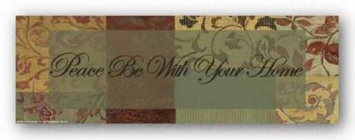 Patchwork with Pomme: Peace be with your home by Smith-Haynes