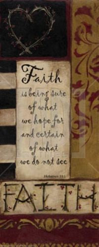 Faith is being sure by Smith-Haynes