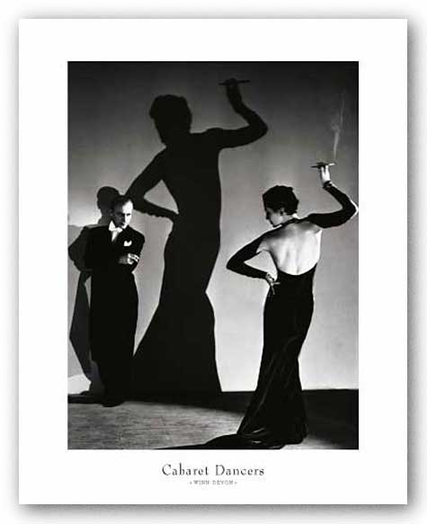 Cabaret Dancers by Gordon Anthony