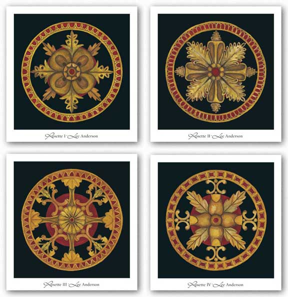 Rosette Set by Lee Anderson