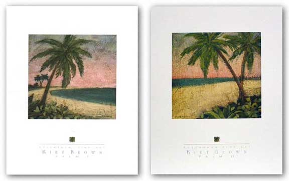 Palm Set by Kirt Brown