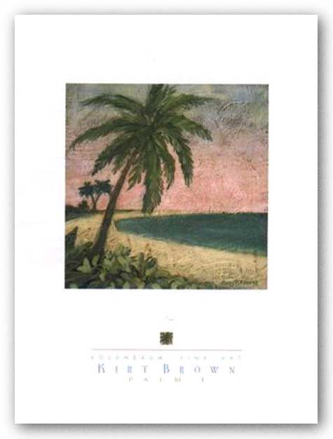 Palm I by Kirt Brown
