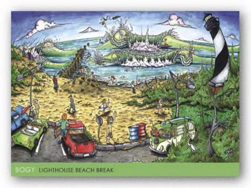 Lighthouse Beach Break by Aaron BOGY Bogushefsky