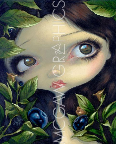 Poisonous Beauties I Belladonna by Jasmine Becket-Griffith