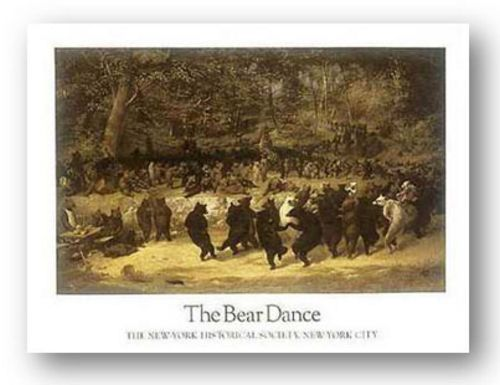 The Bear Dance by William Holbrook Beard