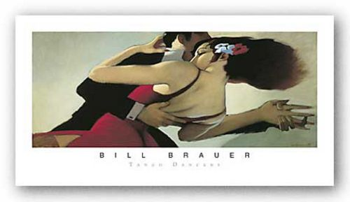 Tango Dancers by Bill Brauer