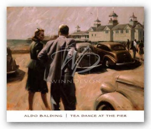 Tea Dance at the Pier by Aldo Balding