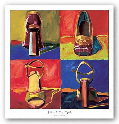 Heels and Toes Together by Brenda K. Bredvik