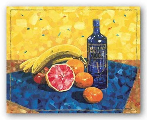 Vodka and Orange by Dwight Baird