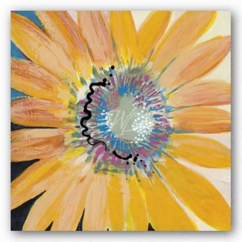 Sunshine Flower IV by Leslie Bernsen