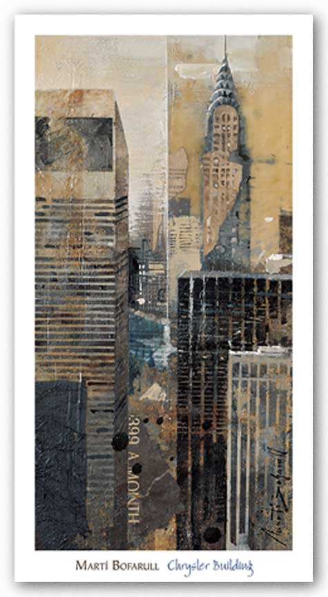 Chrysler Building by Marti Bofarull